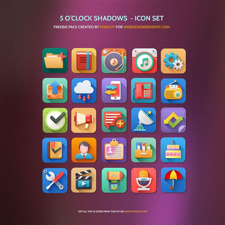 25 iconos