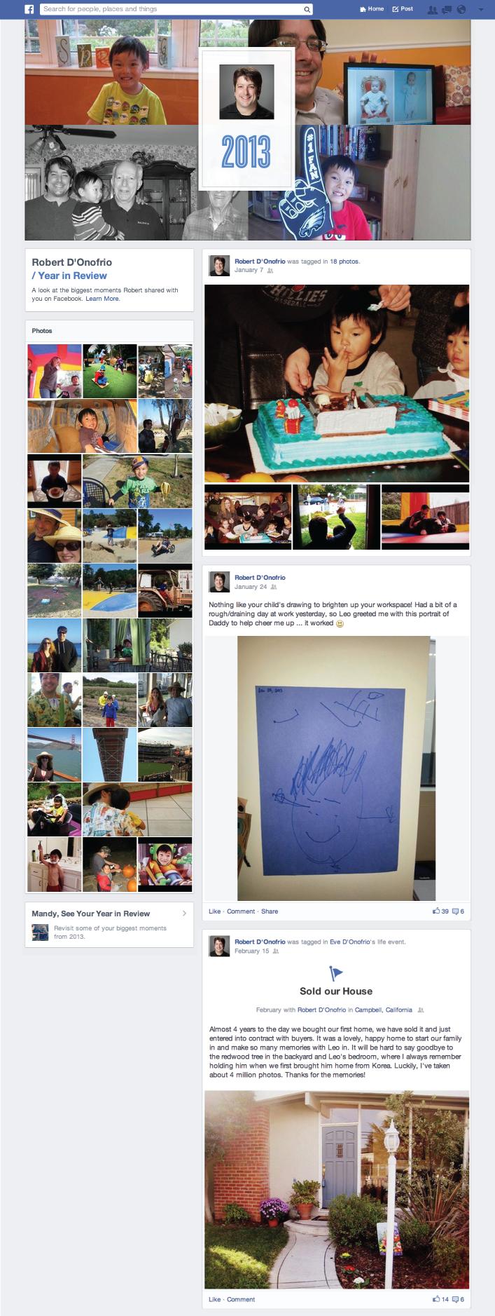 resumen 2013 facebook